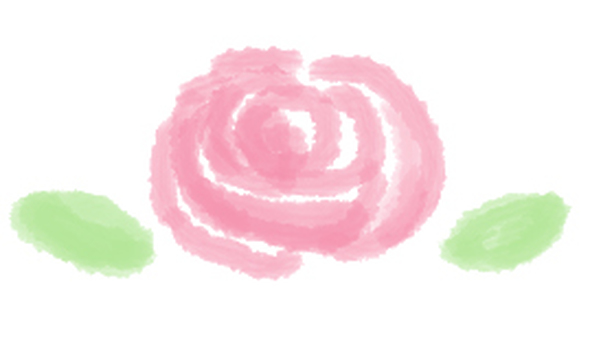 A loose picture rose