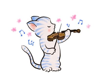 バイオリンねこ38