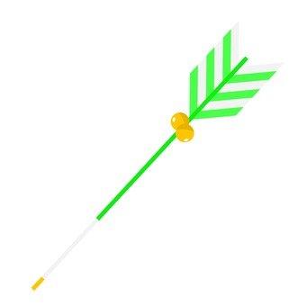 Devil arrow (green)
