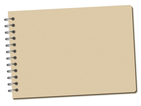 100. Notebook cover, beige