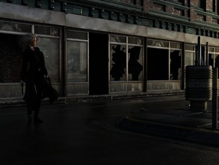 二丁拳銃と街