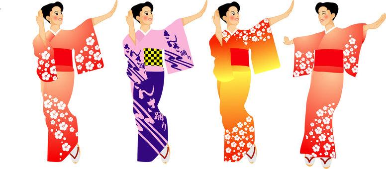 盛岡さんさ踊り02