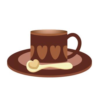 커피 컵 (찻잔)