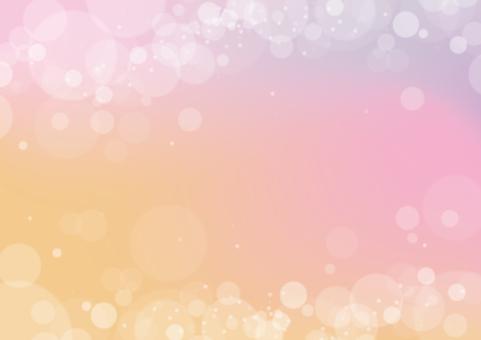Glitter background / message card