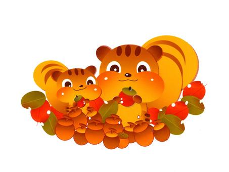 다람쥐 부모의 겨울 준비 Ⅲ