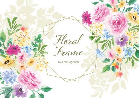 Floral frame4