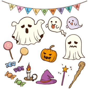 Halloween parts set