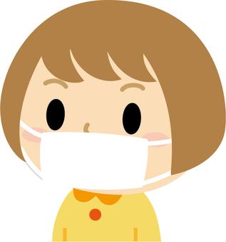 Masked girl 2 (sideways)