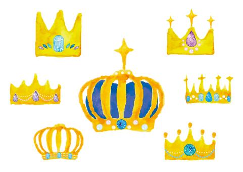 """""""Watercolor Wind"""" Crown 2"""