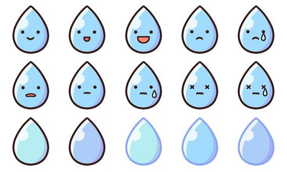 Free material for water character