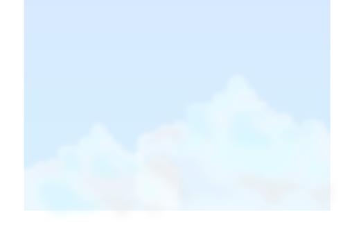 뭉게 구름 옆 얇은 색조