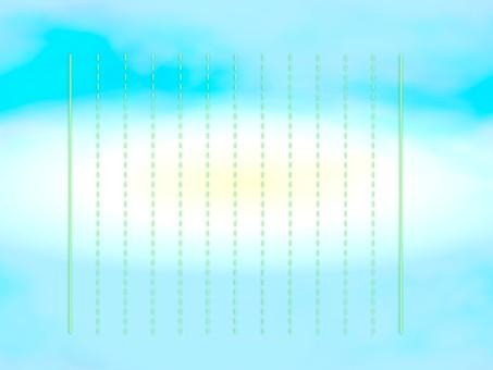 Vertical writing stationery E0658