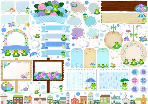 Rainy season image material 129