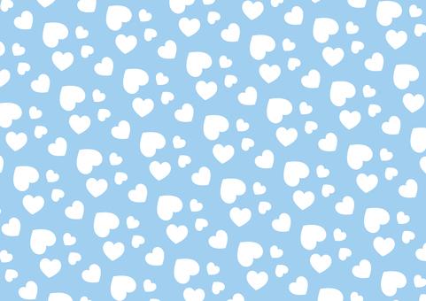 隨機心型(藍色)