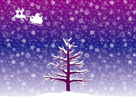 산타와 나무 2