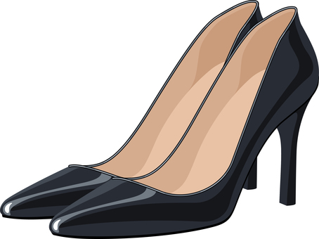High Heel Pumps Black