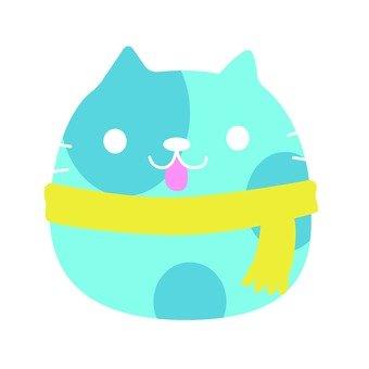 Muffler cat