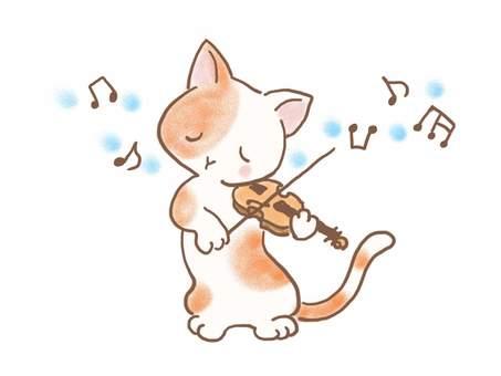 バイオリンねこ33