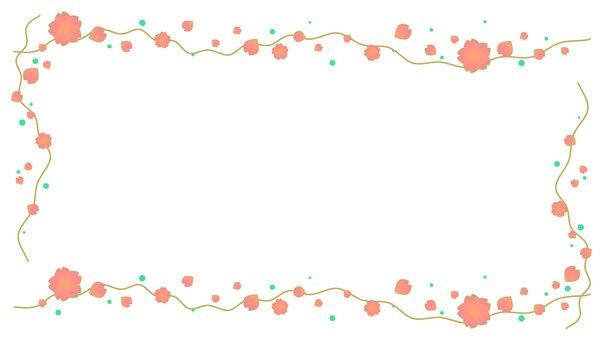 桜 and wind 枠