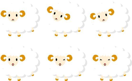 Dried sheep