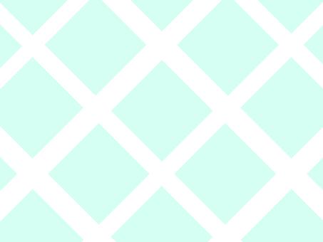 薄荷綠菱形