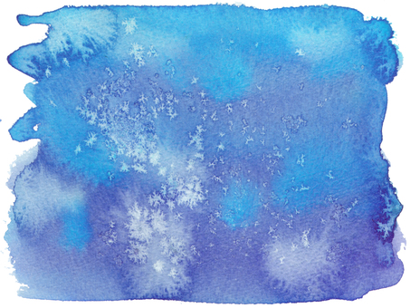 Watercolor background -20-blue