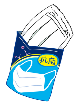 Packaged mask
