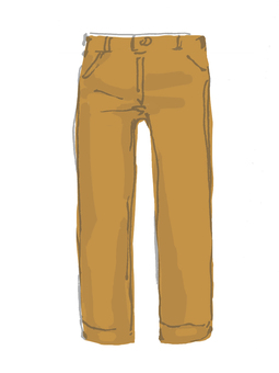 Clothes: Chino pans