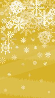 Snow crystal wallpaper Vertical 2