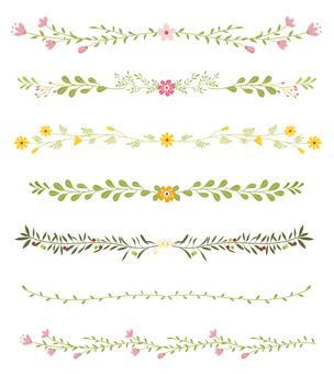 植物のライン