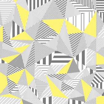 Striped monochrome geometric pattern