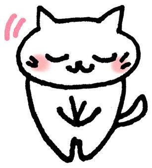 고양이 하나님 辞儀