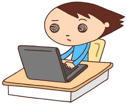 Elementary school character / PC
