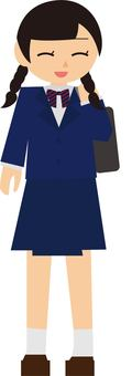 Girl in uniform 2
