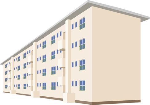 Housing estate public housing complex