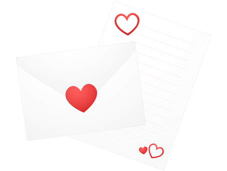 ai Love letter with heart seal · Letter