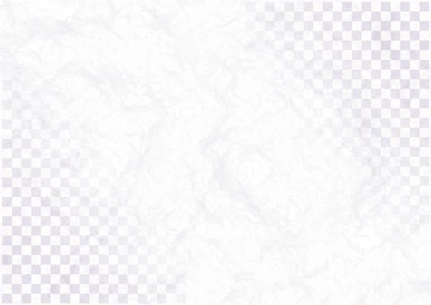 Japanese washi-style vermicollis checkered pattern