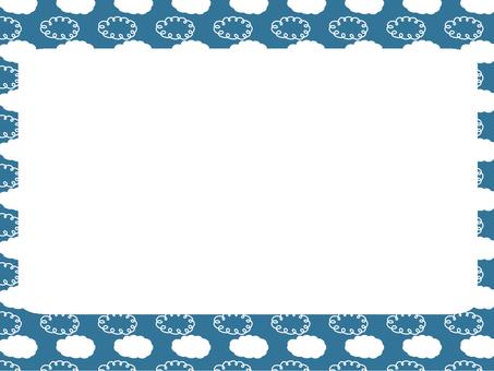 Cloud pattern frame