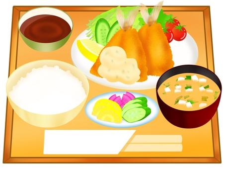 竹莢魚套餐