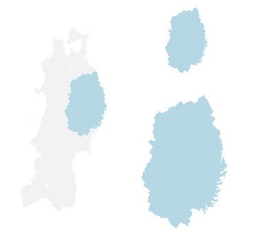 Dot Map Iwate 2