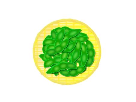 Tonight is edamame soybean shochu oolong split