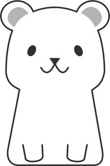 【Animals】 Polar bear