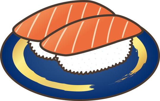 Rotary sushi: tuna (lean)