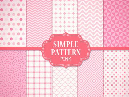 간단한 패턴 [핑크]