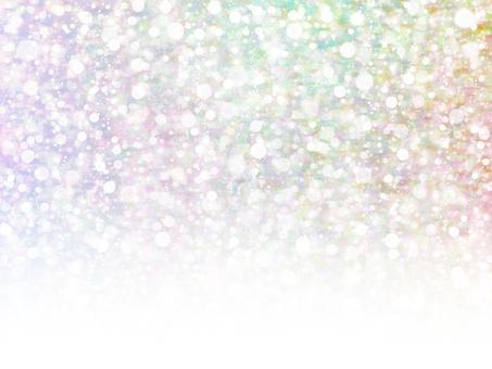 Mixing dots 25 (rainbow gradation)