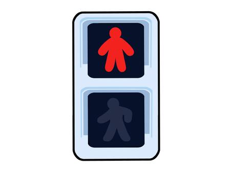 Traffic light (red)