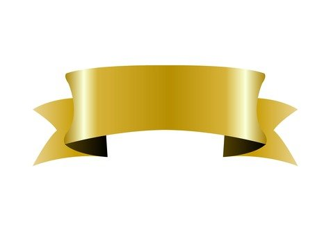 Gold Ribbon (Thick)