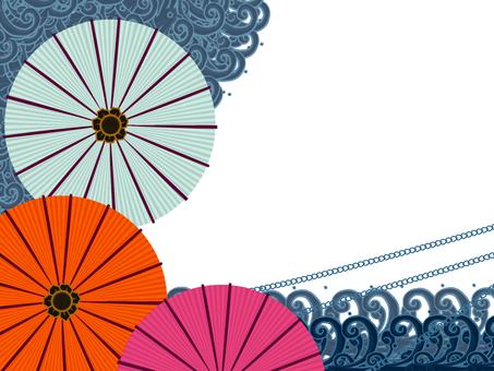 Umbrella frame 2