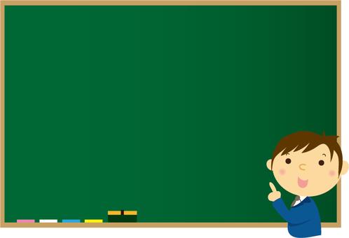 Blackboard contact
