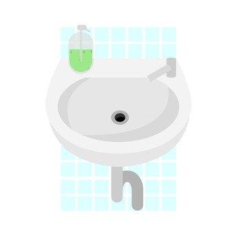 Hand wash sink 1